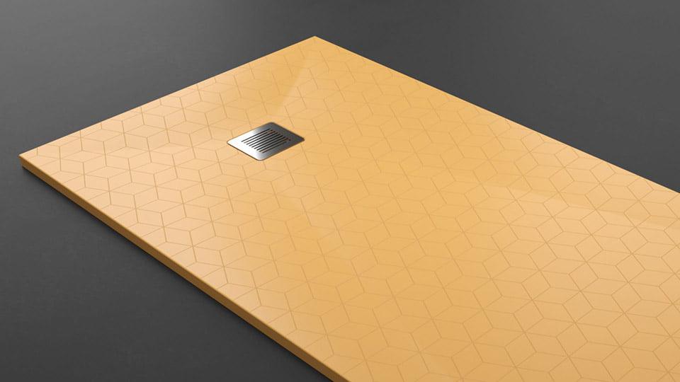 Platos de ducha - Texturas personalizables