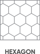 Textura hexagon